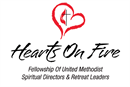 Logo for Hearts On Fire! Fellowship United Methodist Spiritual Directors and Retreat Leaders.