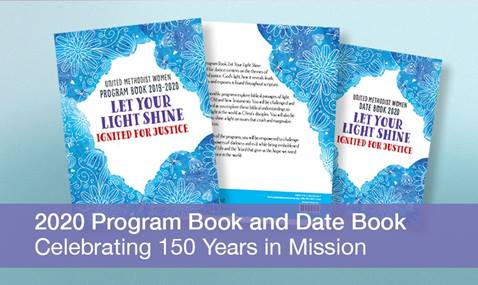 The 2019-2020 Program Book explores biblical passages of light from the Old and New Testaments. Image courtesy of United Methodist Women.