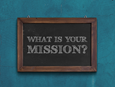 Defining what is important creates focus and alignment for each staff member and volunteer. It helps people define the most important actions and how to measure if a ministry is working or not. Chalkboard mockup from GraphicsFuel.com; blue background photo by Tim Mossholder, Pexels.